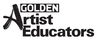 Golden Artist Educators Logo_K